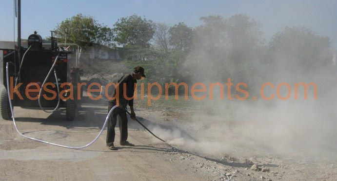 Bitumen Emulsion Sprayer With Dust Remover