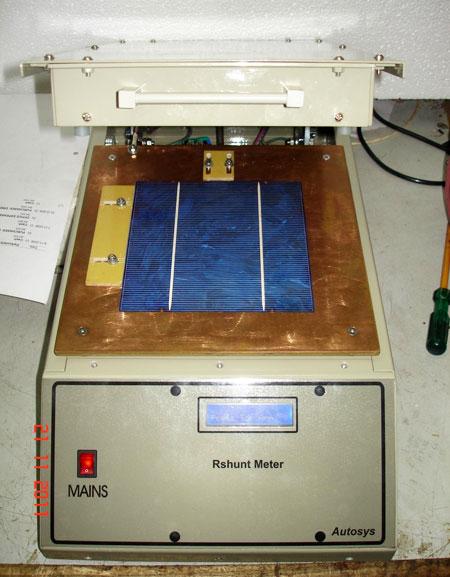 Solar Shunt Meter