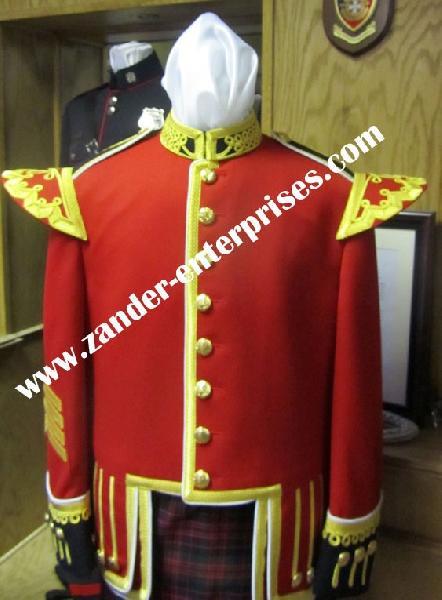 Mens Scottish Band Uniforms Manufacturer & Exporter in Pakistan