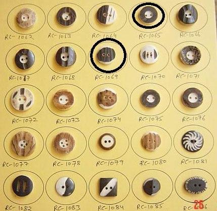 Horn Buttons 06