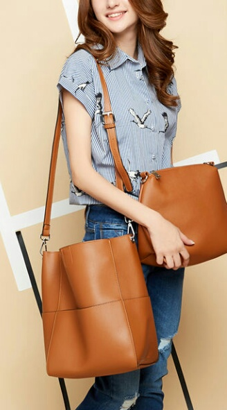 Ladies Leather Hobo Bag