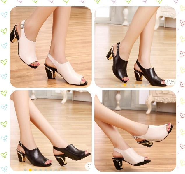 Ladies Roman Style High-heeled Sandals