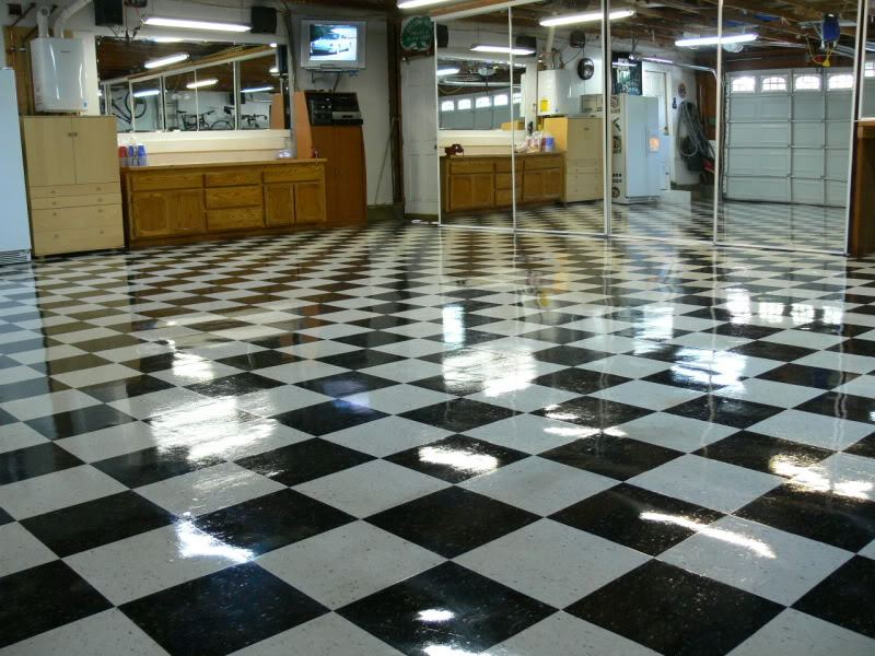Modular Epoxy Floorings