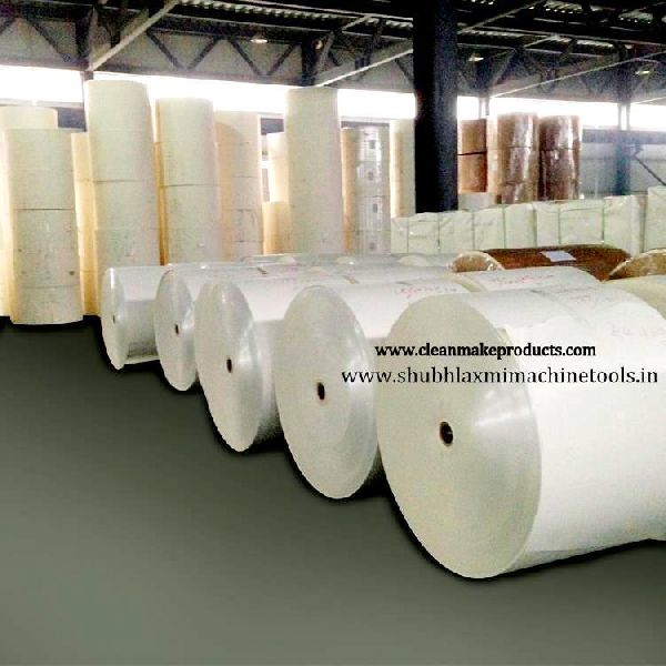 Poly Coated White Paper Roll 01