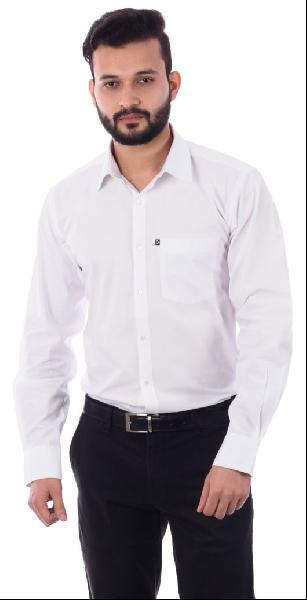 Mens Formal White Shirt