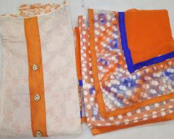 Ladies Chanderi Unstitched Suits