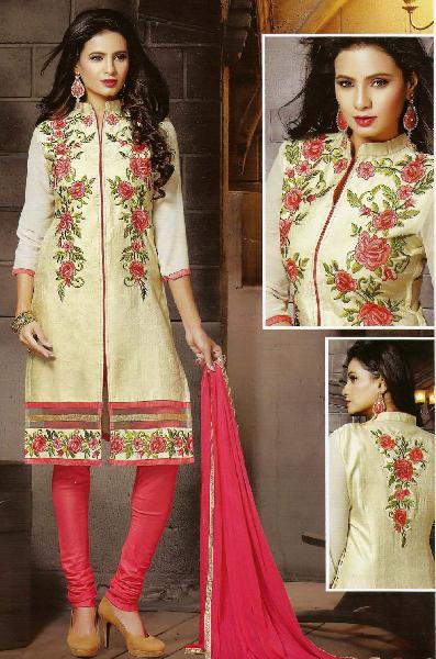 Designer Silk Suit