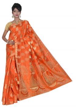Semi Tussar Silk Sarees