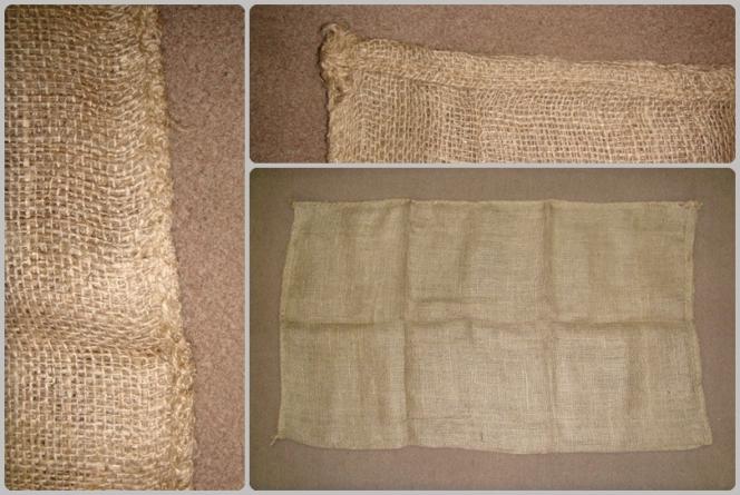 "33.50"" x 20"" (85 cm x 51 cm)  Hessian Sandbag"