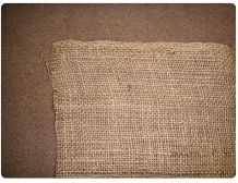 "45""-9 OZ / 45""  Hessian Cloth"