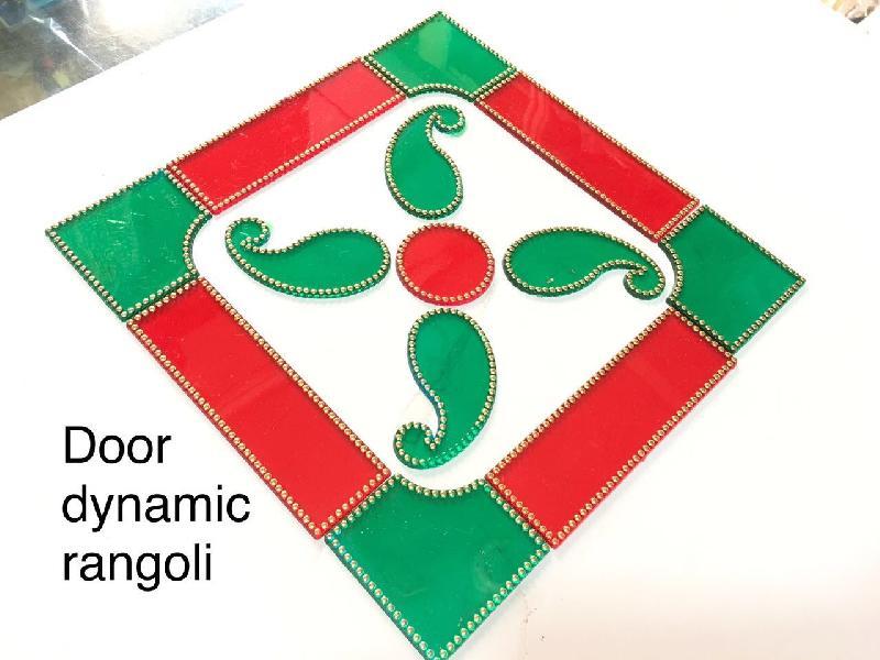 Door Dynamic Acrylic Rangoli