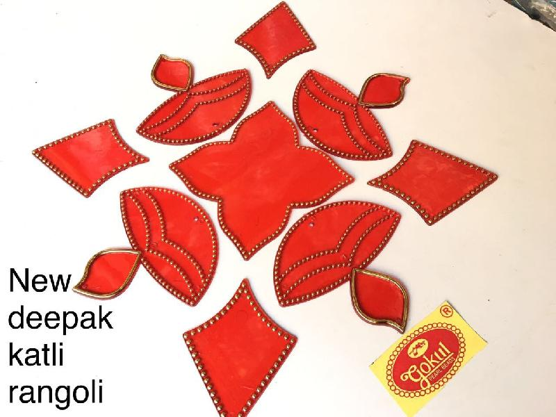 New Deepak Katli Acrylic Rangoli