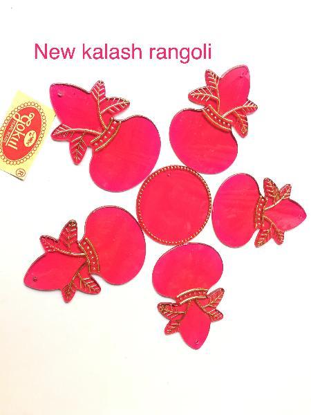 New Kalash Acrylic Rangoli