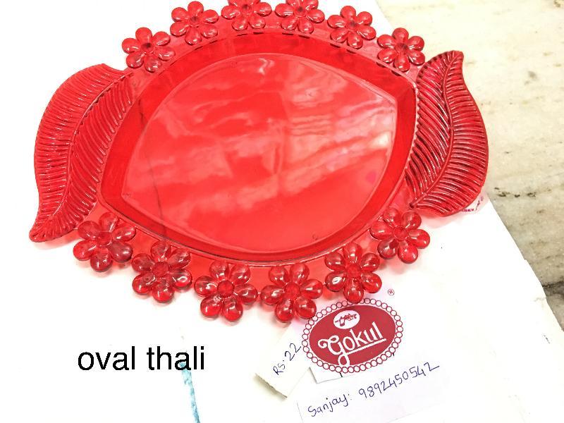 Oval Pooja Thali