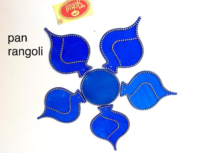 Pan Acrylic Rangoli