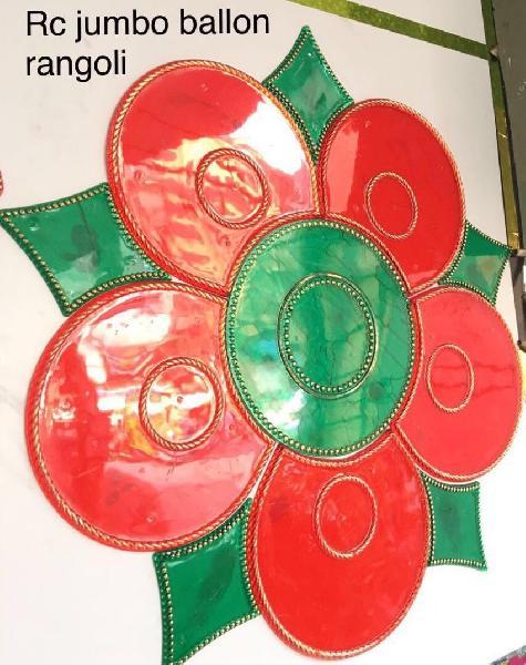 RC Jumbo Balloon Acrylic Rangoli