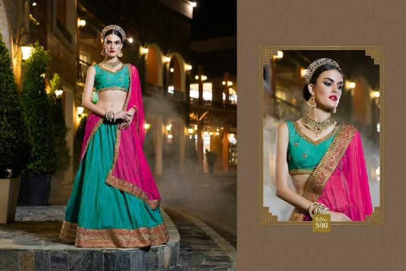Party Wear Lehenga Choli 10