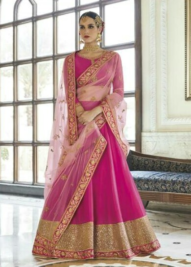 Party Wear Lehenga Choli 19