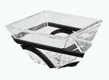 Glass Square Bowls