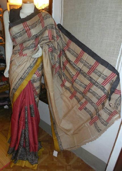 Hand Block Printed Saree 06