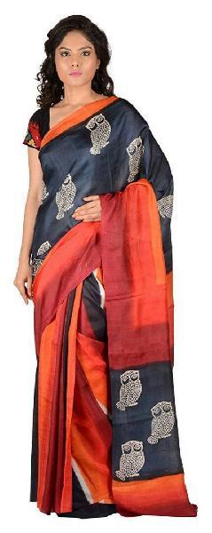 Hand Block Printed Saree 10