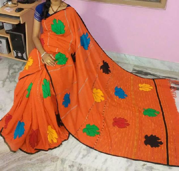 Khadi Saree With Blouse 04