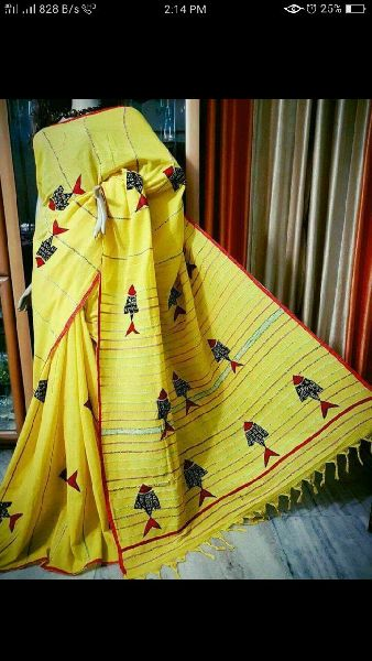 Khadi Saree With Blouse 07