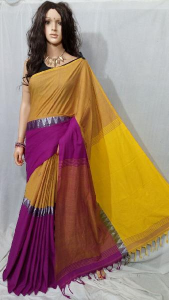 Khadi Saree With Blouse 01