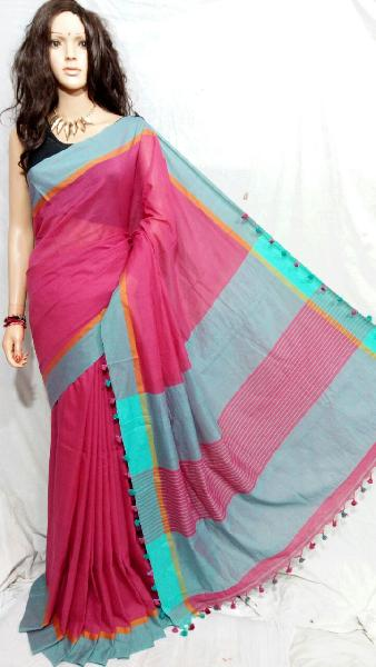 Khadi Saree With Blouse 05