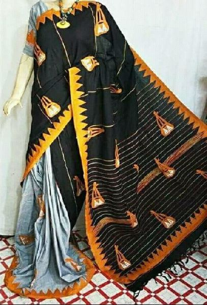 Khadi Saree With Blouse 10