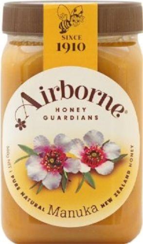 Airborne Pure Natural New Zealand Manuka Honey (500g)