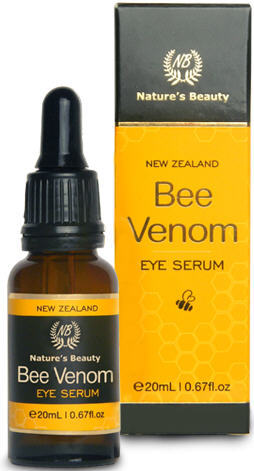 Natures Beauty Bee Venom Eye Serum with Active Manuka Honey (UMF 20+) & Organic Oil (20ml)