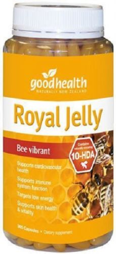 Good Health New Zealand Royal Jelly (365 Capsules)