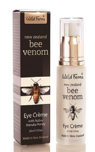 Wild Ferns Bee Venom Eye Cream With Active Manuka Honey (30g)