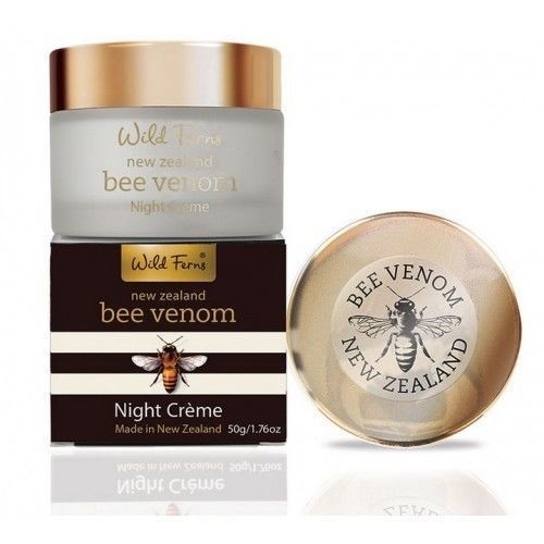 Wild Ferns Bee Venom Night Cream With Active Manuka Honey (50g)