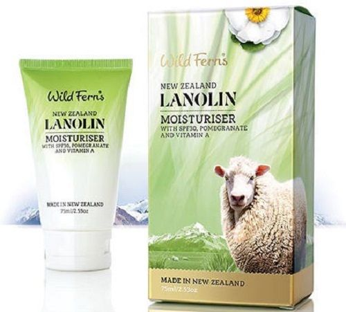 Wild Ferns Lanolin Moisturiser SPF30 With Pomegranate And Vitamin A (75ml)