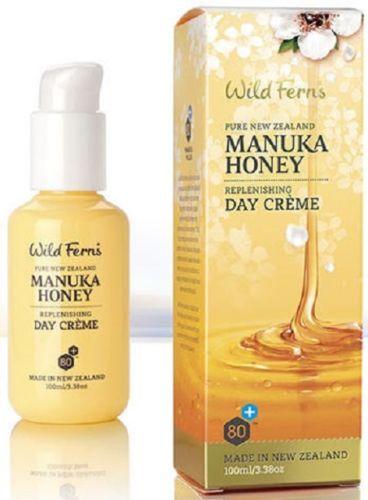 Wild Ferns Manuka Honey 80+ Replenishing Day Creme (100ml)