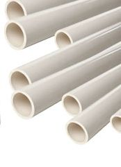 Square and Round PVC Pipes