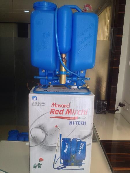Masand Red Mirchi Hi-Tech Knapsack Sprayer