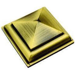 Brass Royal Pyramid Mirror Cap 02
