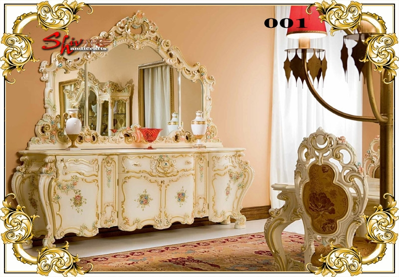 001 Wooden Dressing Table