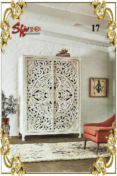 017 Wooden Designer Dresser