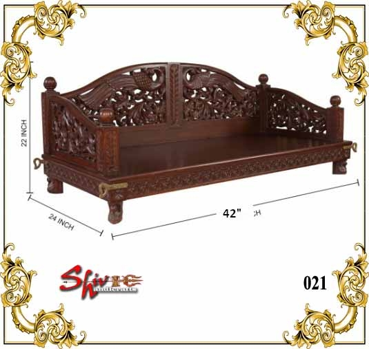 021 Wooden Swing Setter
