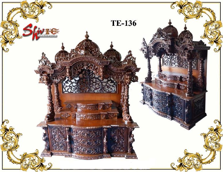TE-136 Wooden Temple