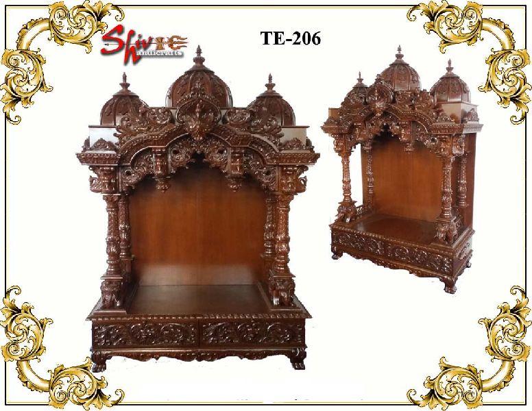 TE-206 Wooden Temple