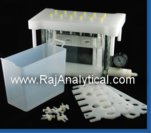Solid Phase Extraction Vacuum Manifold 01