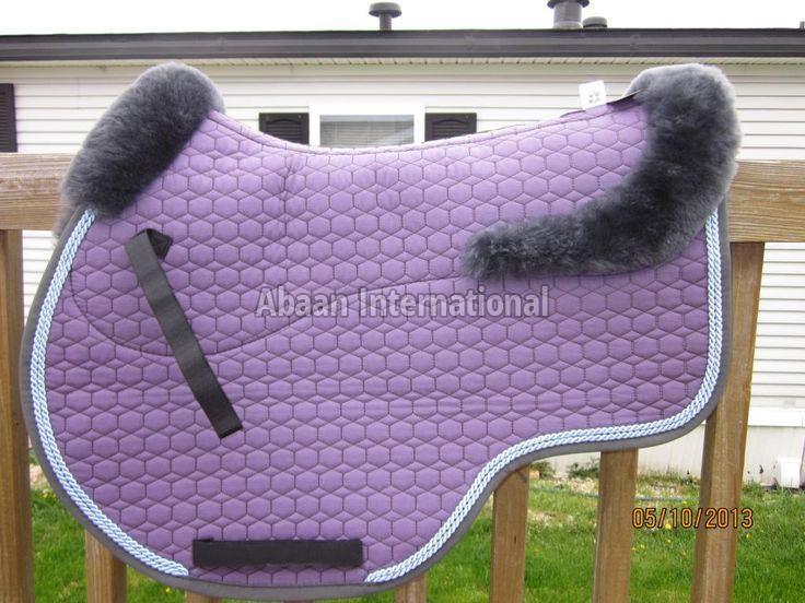 Horse Fur Lining Saddle Pads