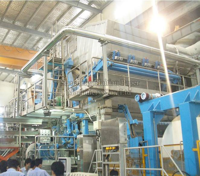 High Speed Fully Automatic Crescent Tissue Paper Making Machine