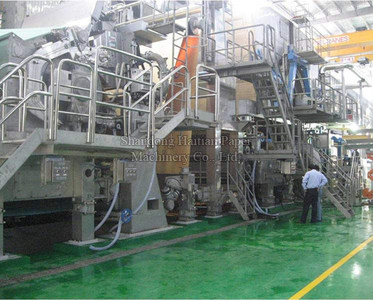 High Speed Automatic Toilet Tissue Paper Making Machine Manufacturer