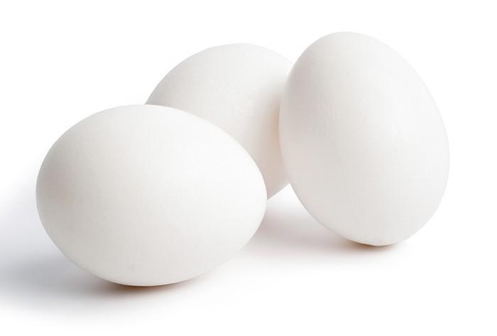 White Chicken Egg 01